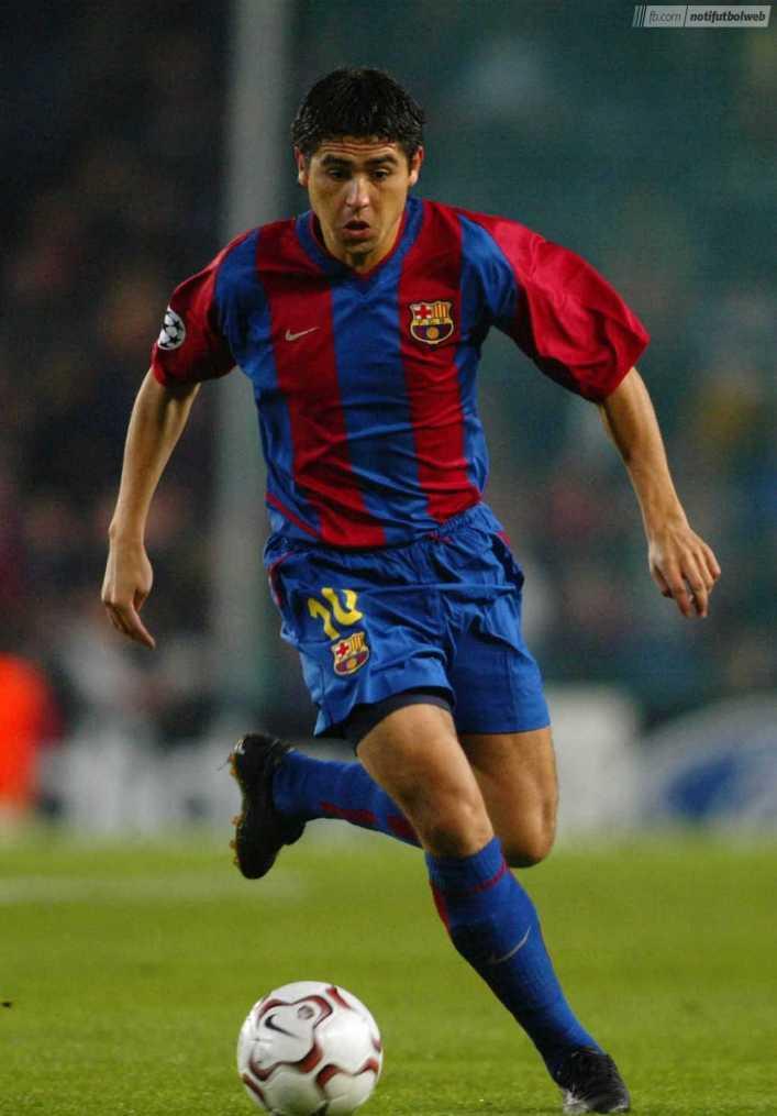 VIDEO: Todos los goles de Riquelme con el Barcelona