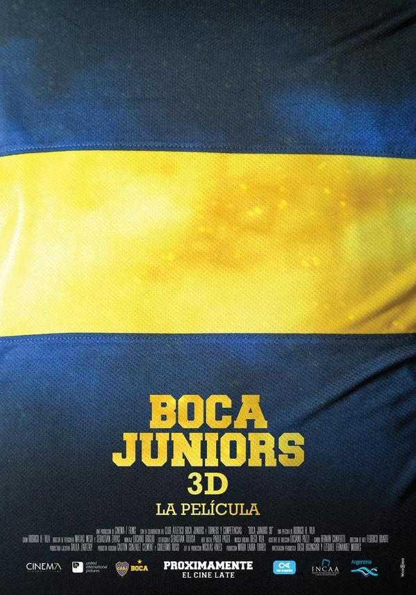 El trailer de Boca Juniors 3D, la película