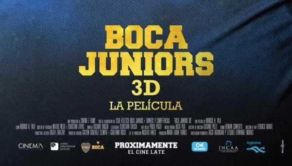 TRAILER OFICIAL PELICULA 3D BOCA JUNIORS