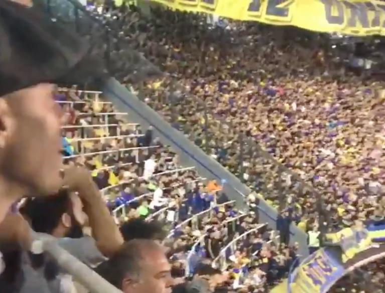 Un ex del Barça se emocionó con la magia de La Bombonera
