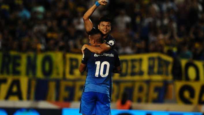 VIDEO: Boca tuvo un buen estreno, no extrañó a Tevez y despachó a Estudiantes