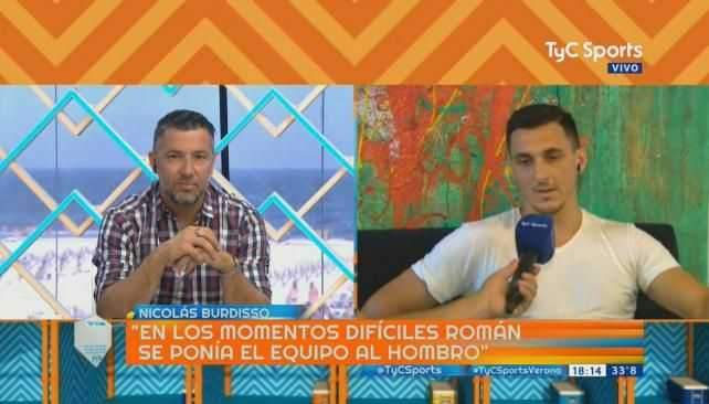 VIDEO: Burdisso eligió entre Riquelme y Messi