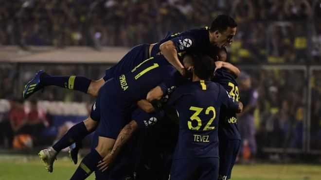 VIDEO: Cardona anotó golazo de fuera del área para Boca