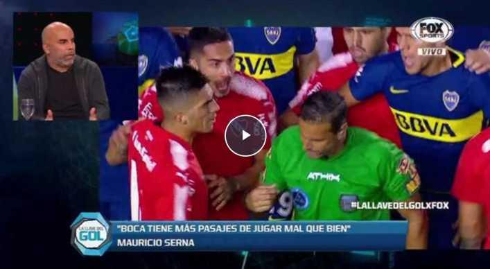 VIDEO: Chicho Serna analiza el juego de Boca Juniors