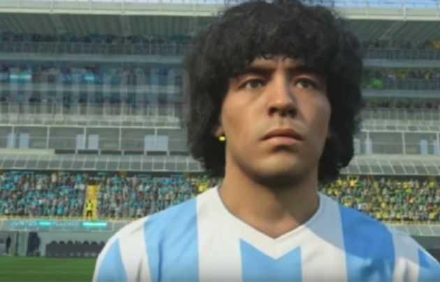 VIDEO: Dura amenaza de Maradona a Konami por uso de su imagen