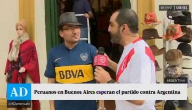 VIDEO: El ambiente que se vive en los alrededores de La Bombonera