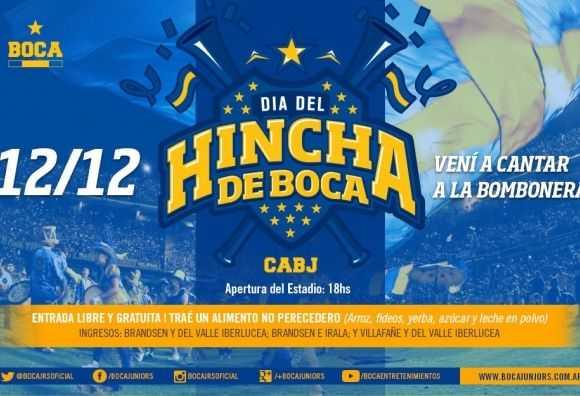 VIDEO: El Día del Hincha de Boca se festeja en La Bombonera