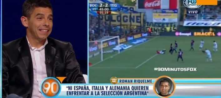 VIDEO: El entredicho de Riquelme con un periodista que le preguntó por Tevez