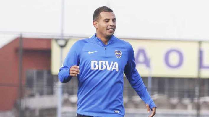 VIDEO: El golazo de Cardona en el entrenamiento de Boca