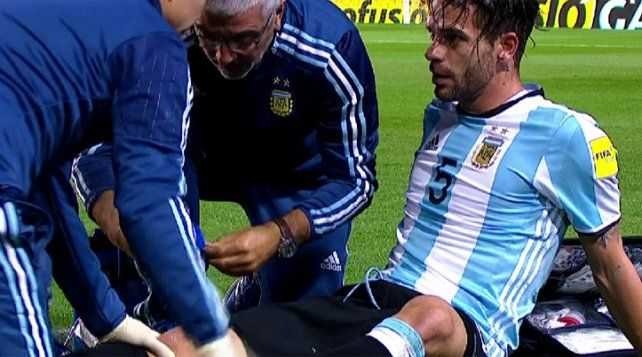 VIDEO: El parte médico de Gago confirmó lo peor