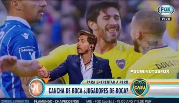 ERIODISTA DE FOX SPORTS PIDE JUGADORES DE BOCA JUNIORS