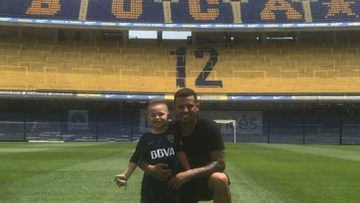 VIDEO: La burla del hijo de Cardona contra River que se hizo viral