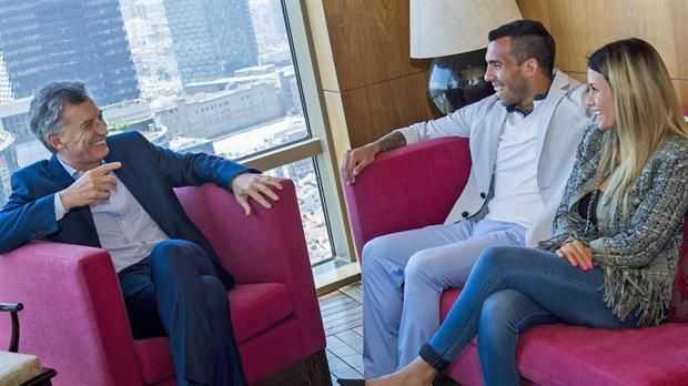 VIDEO: Macri compartió en Instagram un mensaje de Tevez