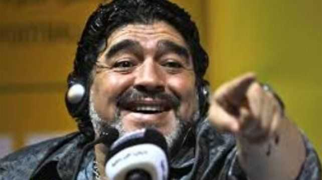VIDEO: Maradona chicaneó a River de la peor manera