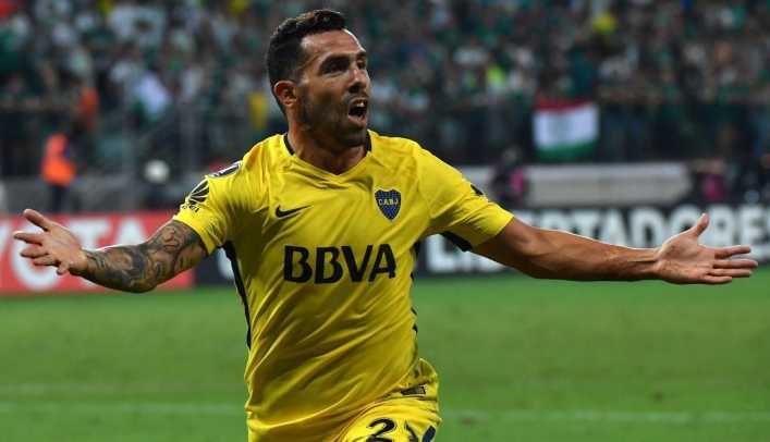 VIDEO: Mejores goles de Tevez en Copa Libertadores