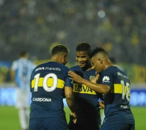 VIDEO: Mira la recocha que armaron dos de los colombianos de Boca Juniors