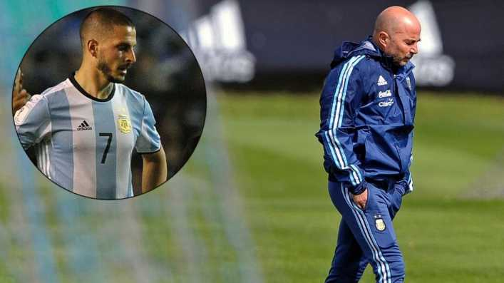 video sampaoli descarto a benedetto para el mundial