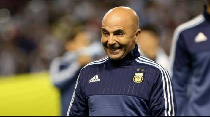 VIDEO: Sampaoli hizo feliz a todo el estudio de Fox Sports Radio