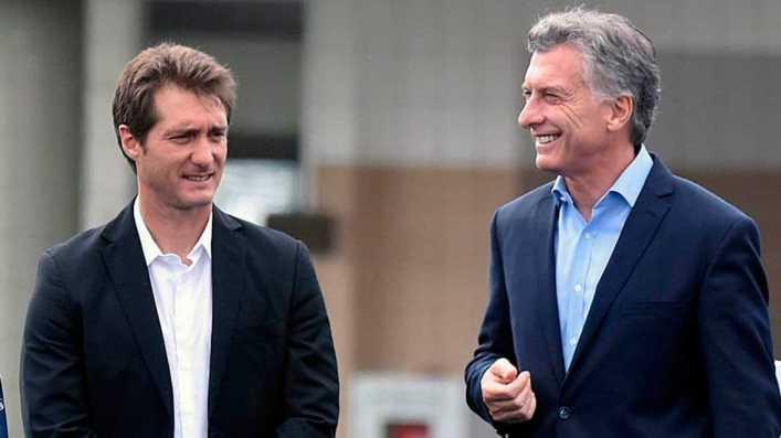VIDEO: Schelotto, otra vez en la Casa Rosada con Mauricio Macri