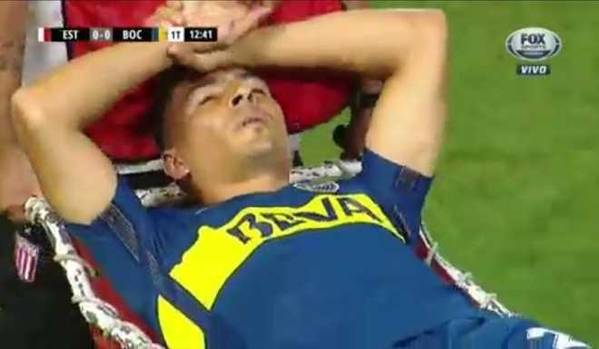 VIDEO: Se lesionó Goltz