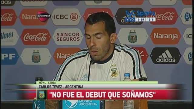VIDEO: Tevez habló de su posición en la Selección Argentina