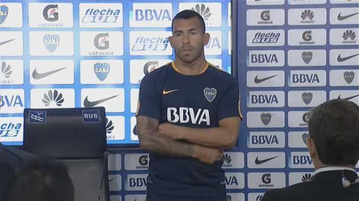 VIDEO: Tevez hizo un minuto de silencio por Matias Kruger