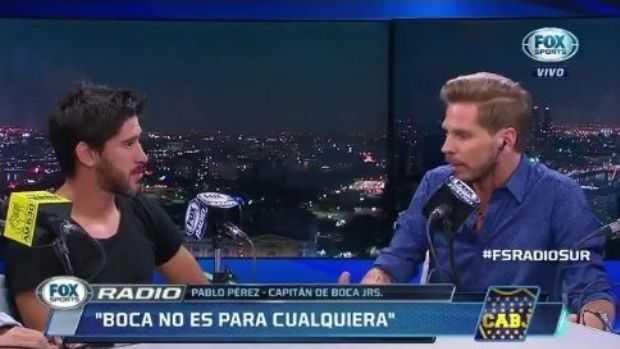 VIDEO: Vignolo le habló de River y Pablo Pérez así le respondió.