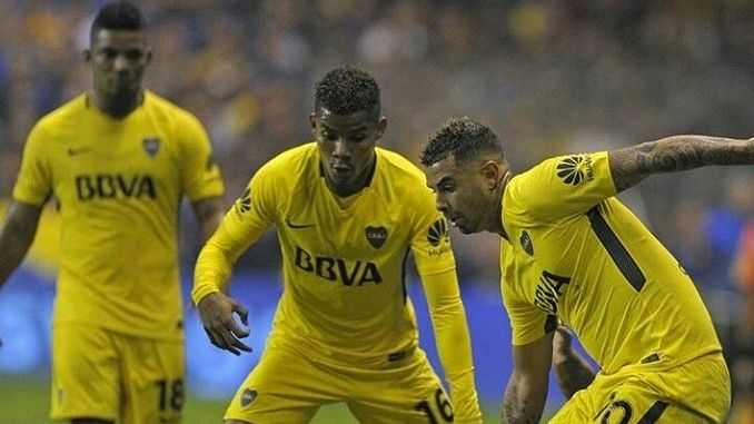 video wilmar barrios asusto a la hinchada de boca juniors
