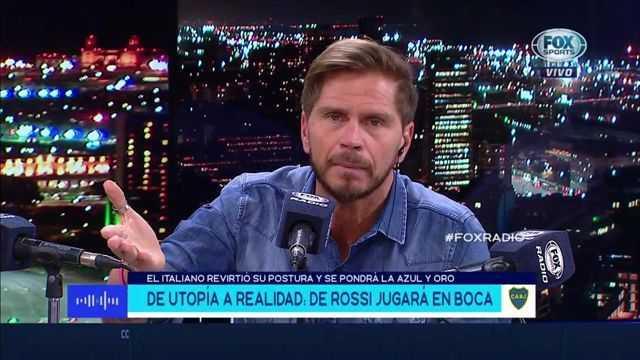 Vignolo recordó a Riquelme...