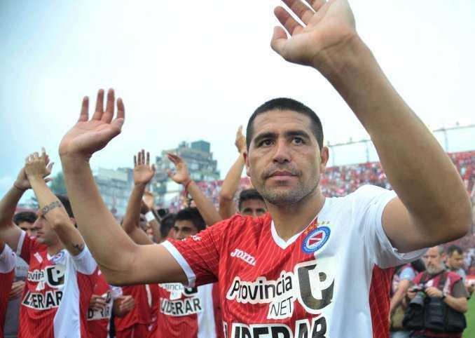"¿Riquelme vuelve a Boca? ""Con Argentinos ya estamos a mano"""