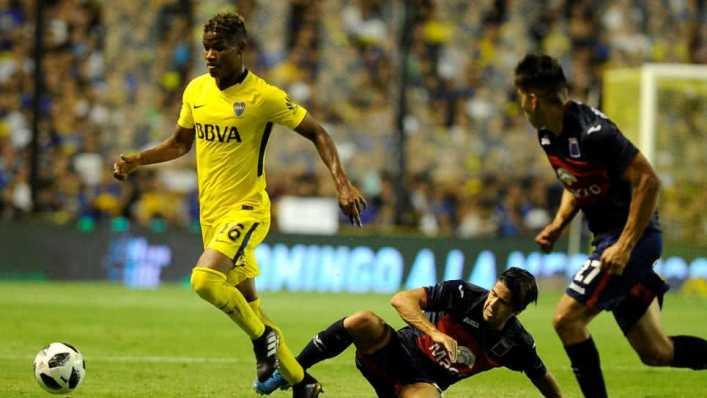 Wilmar Barrios, el nuevo ídolo de Boca