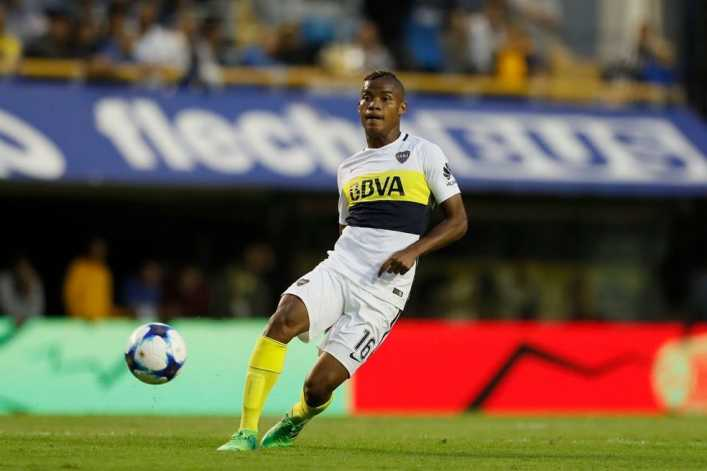 Wilmar Barrios fue declarado intransferible por Boca Juniors