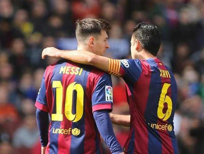 Xavi habla sobre Messi y Riquelme