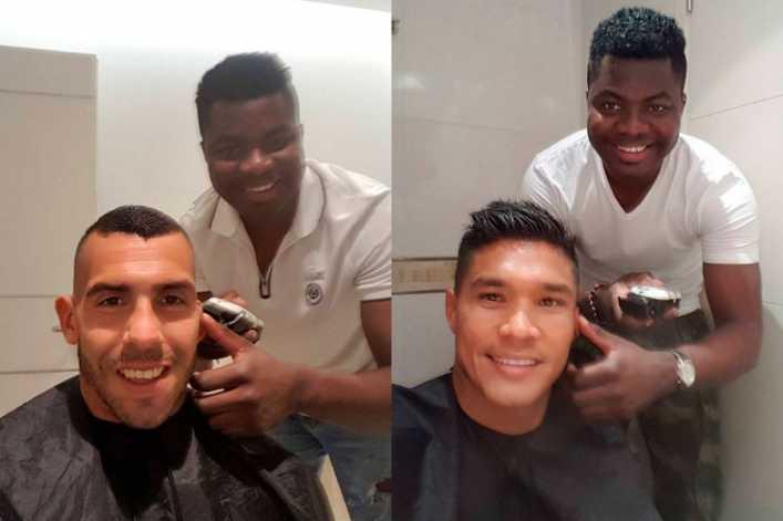 yaca peluquero y periodista favorito futbolistas argentina