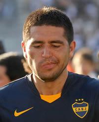 Riquelme fue elegido el mejor jugador luego de Maradona