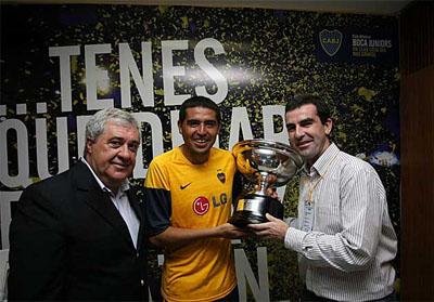 Riquelme gana la Copa MARCA al MVP del Boca-River