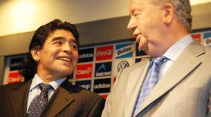 Grondona le pedirá a Riquelme que vuelva a la Selección nacional