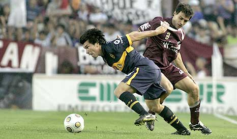 La diferencia entre Lanús y Boca fue la cabeza goleadora de Palermo