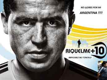 La gente sufre la caída ante Bolivia y muchos piden por Riquelme