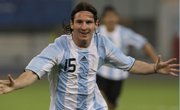 Messi: 'Será raro jugar sin Riquelme...'