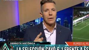 Alejandro Fantino, furioso, se descargó con Jorge Sampaoli