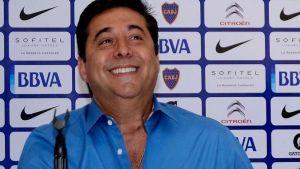 Foto Juan Roman Riquelme Angelici Contesto A Gallardo Por Supuesta Revancha Libertadores Y Lo Mato