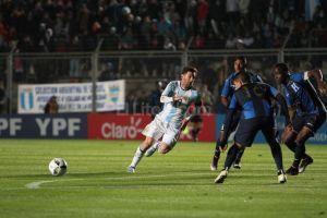 ARGENTINA 1 0 ANTE HONDURAS Y NADA MAS