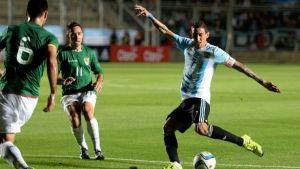 Foto Juan Roman Riquelme Argentina Ante Bolivia En Polemico Cesped Del Kempes