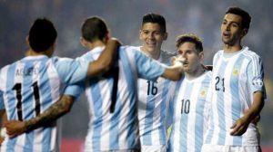 argentina armó una fiesta de goles ante paraguay y está en la final