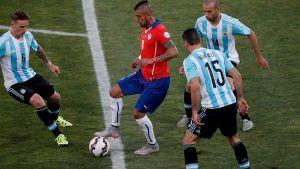 ARGENTINA DEBUT ANTE CHILE INMENSO DESAFIO EN EL JUEGO