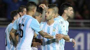 Foto Juan Roman Riquelme Argentina Empata Contra Paraguay En Debut Copa America