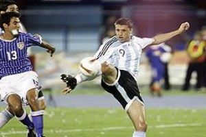 Foto Juan Roman Riquelme Argentina Gana A Estados Unidos En Copa America