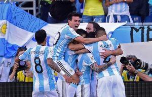 argentina goleó a venezuela y avanzó a semifinales