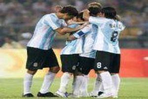 Foto Juan Roman Riquelme Argentina Le Gano A Serbia Y Paso A Cuartos De Final